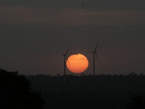 sunsetwindmill